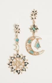 beautiful earings beautiful contrast earrings in gold showpo