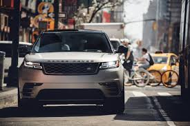 french land rover range rover velar lands in the u s at the hands of singer ellie