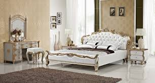luxury gold diamond tufted leather sleeping bed contemporary