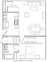 Loft Apartment Floor Plan University Lofts Housing