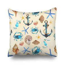 Beach Themed Pillows Decorative