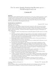Sample Resume Format For Admin Manager by Resume Template Engineering Manager