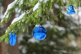 sparkling bauble silver and ultramarine