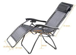 Patio Recliner Chair by Amazon Com Outsunny Zero Gravity Recliner Lounge Patio Pool
