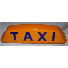 Taxi Light Universal Taxi Cab Top Light Regular Or Led Lighting Magnetic Or