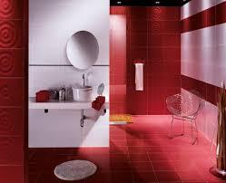 red and bathroom ideas home design ideas