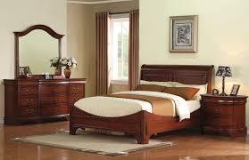 renaissance cherry sleigh bedroom set 11491