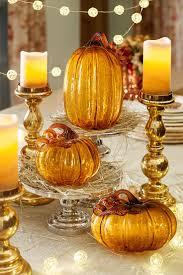 best 25 glass pumpkins ideas on fall decorating