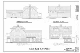 Farmhouse Elevations by Denison Pequotsepos Coogan Farm Nature And Heritage Center
