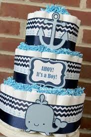 baby shower anchor theme 3 tier whale cake boy baby shower aqua blue navy whale baby
