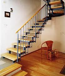stahl holz treppe zweiholm stahl holztreppe