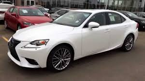 lexus canada new white on black 2015 lexus is 250 awd review alberta canada