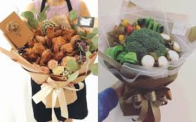 food bouquets custom edible bouquets take malaysian netizens by coconuts kl