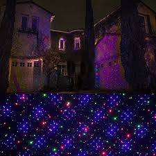 outdoor lawn lights outdoor rgb christmas light projector dynamic firefly starry laser