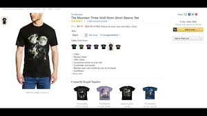 3 Wolf Moon Meme - reviews the mountain three wolf moon tee shirt youtube