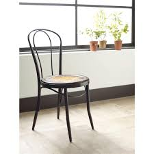 fouquet parisian bistro bent iron cafe chair kathy kuo home