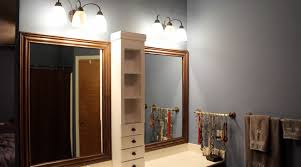 How To Make A Frame For A Bathroom Mirror by Framing A Bathroom Mirror And Building A Cabinet Wilker Do U0027s