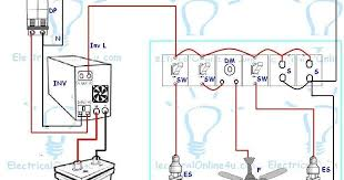 ups u0026 inverter wiring diagram for one room office for inverter
