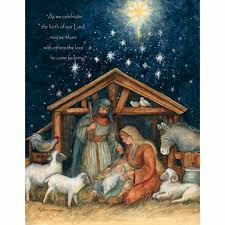 pumpernickel christmas cards boxed religious christmas cards holy family artist susan winget