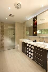 Beige Tile Bathroom Ideas Colors Setting Of Bathroom Shower To The Right And Closed Toilet To The