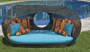 Outdoor Furniture Daybed Unique And Luxurious Outdoor Furniture Home Design Garden