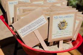 sunflower seed wedding favors sunflower seed wedding favor with description