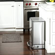 kitchen island trash small stainless steel garbage can small kitchen trash cans small