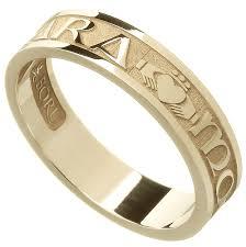 mo anam cara rings gold mo anam cara my soul mate ring at