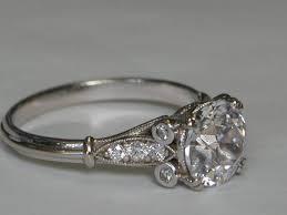 engagement rings atlanta gems crystals unlimited edwardian engagement ring set with