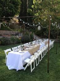 Outdoor Moroccan Furniture by Best 25 Outdoor Dinner Parties Ideas On Pinterest Dinner