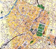 map brussels city center of brussels
