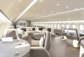 Airplane Interior Luxury Vip Cabins Increasing In Popularity Business Aviation