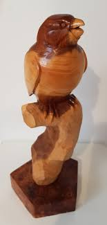 carved wood sculpture by keith s98kp5 therobinsnestgallery