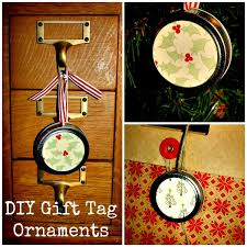 diy jar lid gift tag ornaments