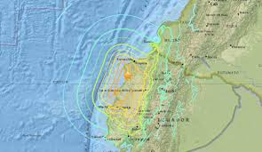 Oregon Earthquake Map by Ecuador Earthquake Ecuador In State Of Emergency After Hundreds