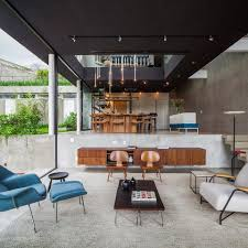 brazilian modern poised multi level architecture design image may contain people sitting table and indoor