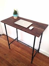 Industrial Standing Desk by Jarvis Red Adjustable Standing Desk Ergo Depot Ergo Depot