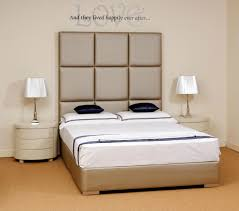 High Headboard Bed A Superb Modern High Headboard Boutique Bed Shown Here In A Soft