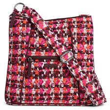 vera bradley crossbody bag in houndstooth tweed handbags