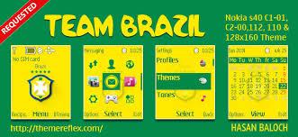 theme maker nokia 2690 team brazil theme for nokia c1 01 c1 02 c2 00 107 108 109 110