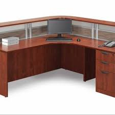 L Shaped Reception Desk New L Shaped Office Desk W Reception Counter