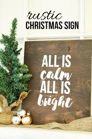 rustic christmas how to make a rustic christmas sign here comes the sun