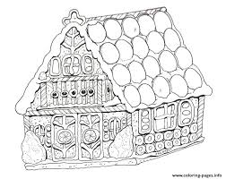 printable gingerbread house colouring page printable gingerbread house coloring pages printable