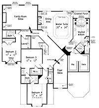 New American Floor Plans | love this garage layout entry living kitchen breakfast nook