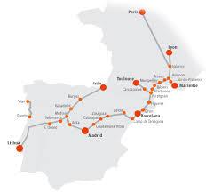 Eurail Map Maps