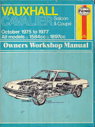for sale haynes manual for vauxhall cavalier mk1 15 classic