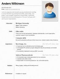 Resume Job Search by Example Of A Neat And Clean Resume Resume Advice And Ideas