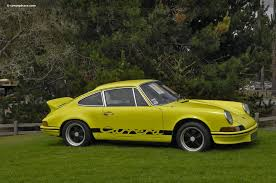 1973 porsche rs for sale auction results and data for 1973 porsche 911 rs rm
