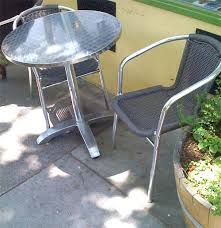 Eames Bistro Table Best Small Outdoor Tables Eames Lacko Paris Apartment Therapy