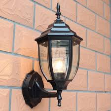 outdoor wall lantern lights european style garden light waterproof outdoor wall l the balcony